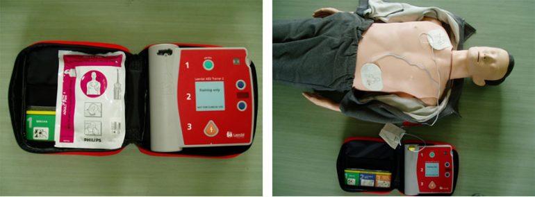 AED(自動体外式除細動器)の導入